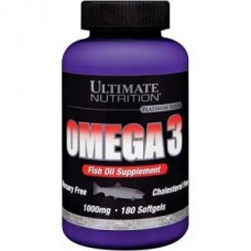 Omega 3 Ultimate Nutrition (180гел. капс)