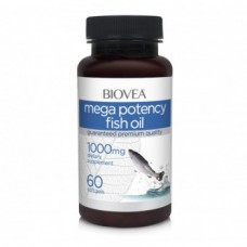 Omega 3 BioVea 1000 mg (No lemon oil) 60 SGels 60 softgels