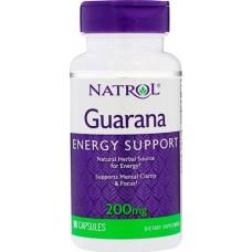 Гуарана Natrol Guarana 200 мг 90 капс