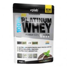 Протеин VP Laboratory 100% Platinum Whey - Шоколад-Мята 750 г