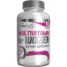 Витамины BioTech  Multivitamin for women 60 табл