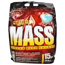 Гейнер Mutant Mass 15 lb - Chocolate Fudge Brownie (6800 гр.)