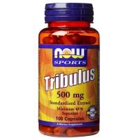 NOW Tribulus 500 mg Extract 45% 100 капс
