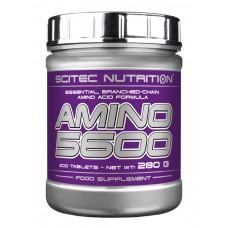 Аминокислоты Scitec Nutrition Amino 5600 200 таб