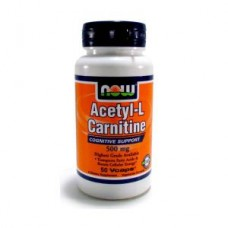 NOW Acetyl L-Carnitine 500 mg 50 капс
