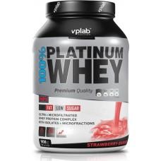 Протеин VP Laboratory 100% Platinum Whey - Клубника Банан 908 г