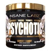 Предтреник Insane Labz Psychotic Gold 200 гр. Фруктовый пунш