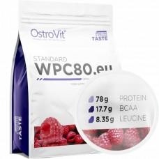 Протеин Ostrovit WPC80 - Малина 900 гр.