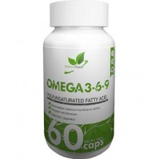 Natural Supp Omega 3-6-9 60 caps