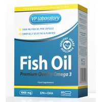 VP Fish Oil (1000 мг. 60 капс.)