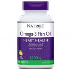 Омега 3 Natrol 1000 mg  60 softgels