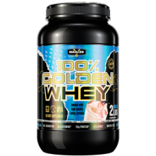 Протеин Maxler Golden Whey - Strawberry (908 г.)