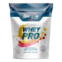 Протеин GeneticLab Whey Pro - Банан-Земляника 900 гр