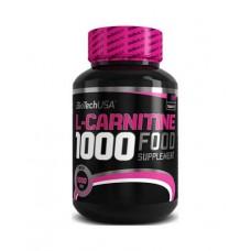 Карнитин BioTech L-Carnitine 1000mg (30 таб.)