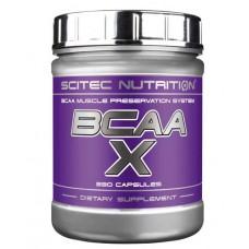 BCAA Scitec Nutrition BCAA-X  330 капс