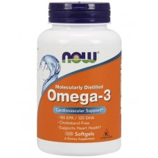 NOW Omega 3 1000 мг. 100 капс.