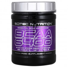 BCAA Scitec Nutrition 6400 125 табл