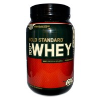 Протеин ON 100 % Whey protein Gold standard 2 lb - Strawberry Banana 907 гр