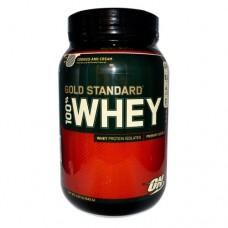 Протеин ON 100 % Whey protein Gold standard 2 lb - Strawberry Banana 907 гр