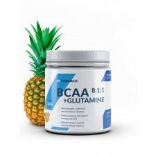 CyberMass BCAA 8:1:1+Glutamine - Ананас 220 г