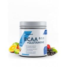 CyberMass BCAA 8:1:1+Glutamine - Фруктовый пунш 220 г