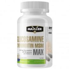 Средство для суставов Maxler Glucosamine - Chondroitin - MSM MAX 90 таб