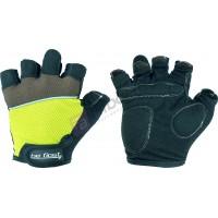 Перчатки Be First черные-зеленые 308 L