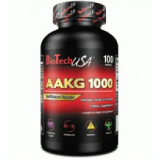 Аргинин BioTech AAKG 1000 100 таб.