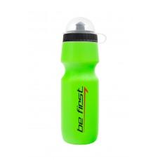 Бутылка для воды Be First 75-green -  зеленая с крышкой 750 мл,