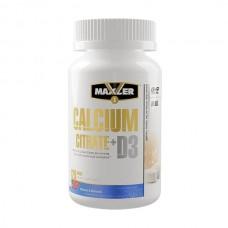 Витамины Maxler Calcium Citrate + D3 120 tabs