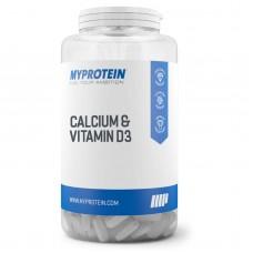 Витамины Myprotein Calcium & Vitamin D3 180 таб.