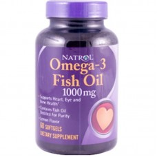 Омега 3 Natrol Fish oil 1200 мг (60 капс.)