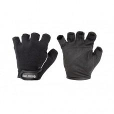 Перчатки Be First черные с вертикальной светлой полосой 310 M