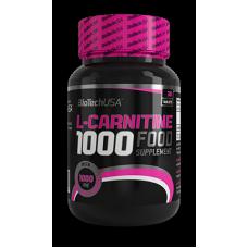 Карнитин BioTech L-Carnitine 1000mg (60 таб.)