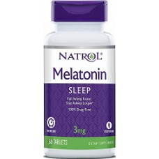 Natrol Melatonin 3mg 60 табл