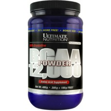 BCAA Ultimate Nutrition Powder 12000 - Lemon Lime 450 гр.