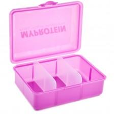 Контейнер для еды маленький Myprotein Klickbox Pink
