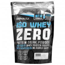Протеин BioTech Iso Whey Zero LF - Кофе Латте (500 гр.)